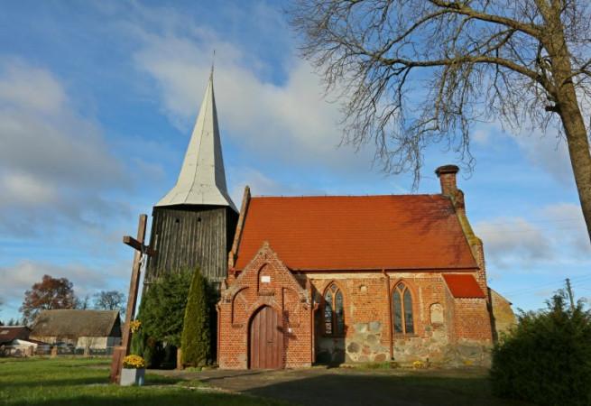 Kłodkowo Kościół filialny pw MB Królowej Świata