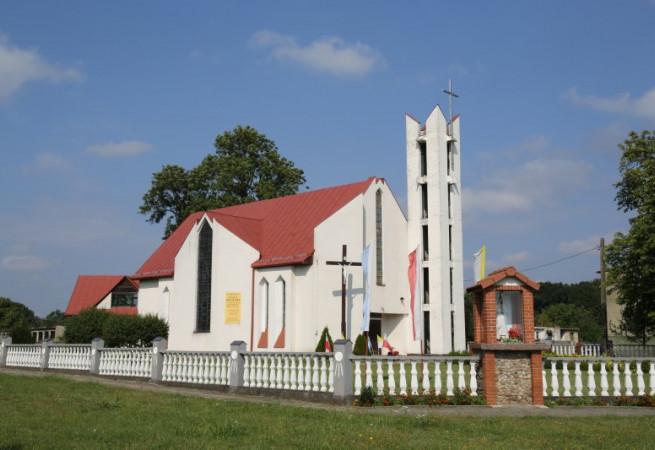 Przybiernówko Kościół filialny pw Miłosierdzia Bożego