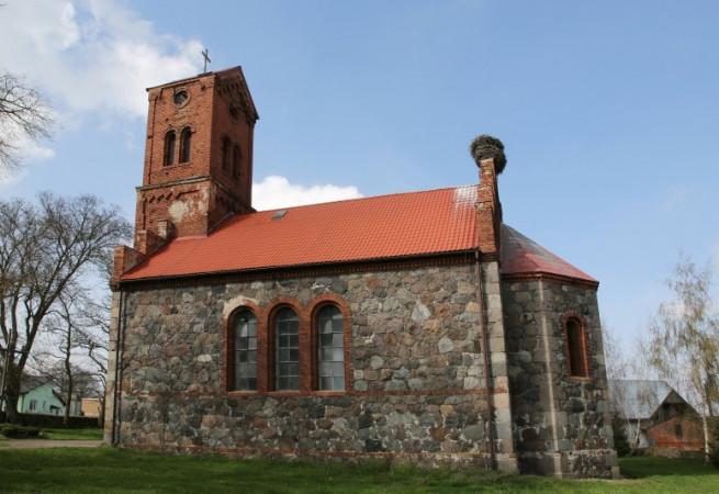 Żarowo Kościół filialny pw Najśw.Serca Pana Jezusa