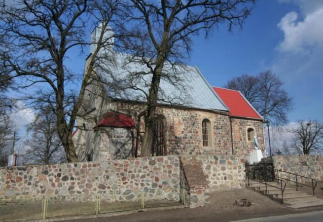 Grzybno Kościół parafialny pw św. Antoniego