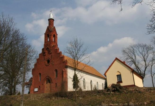 Strzelczyn Kościół filialny pw MB Nieustającej Pomocy
