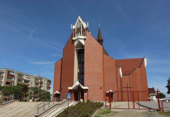 Gryfino Kościół parafialny pw Niepokalanego Serca NMP