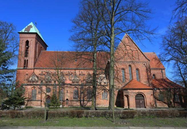 Kamień Pomorski Kościół parafialny pw św. Jana Chrzciciela