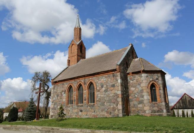 Karkowo Kościół filialny pw św. Franciszka z Asyżu