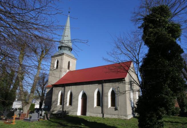 Bielkowo Kościół filialny pw św. Anny