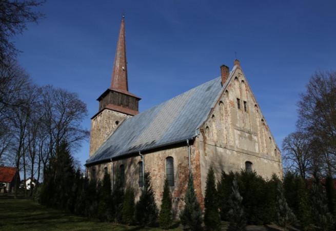 Kunowo Kościół filialny pw  Najświętszej Maryi Panny Królowej Polski