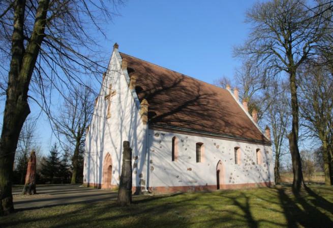 Żalęcino Kościół filialny pw św.Maksymiliana Marii Kolbego