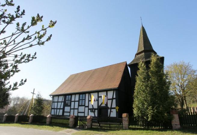 Żelewo Kościół filialny pw MB Wspomożycielki Wiernych