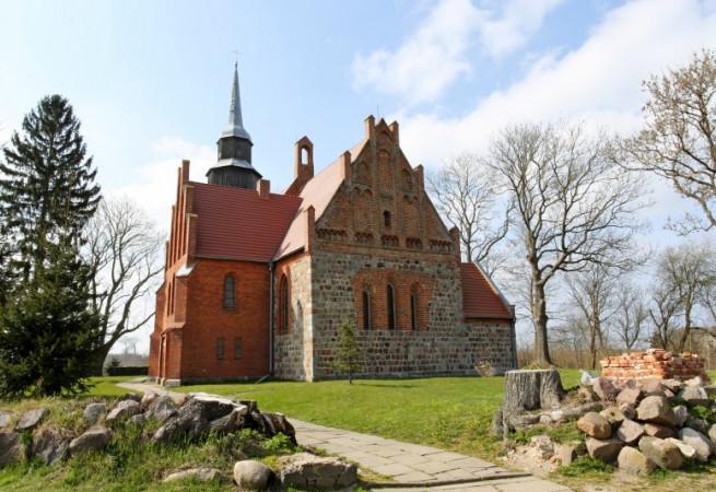 Sadlno Kościół filialny pw Matki Bożej Częstochowskiej