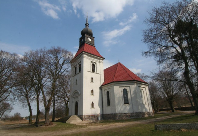 Bielinek Kościół filialny pw św.Barbary