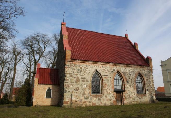 Trzebiatów Kościół filialny pw Narodzenia NMP