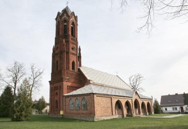 Krzemlin Kościół parafialny pw św. Wojciecha BM