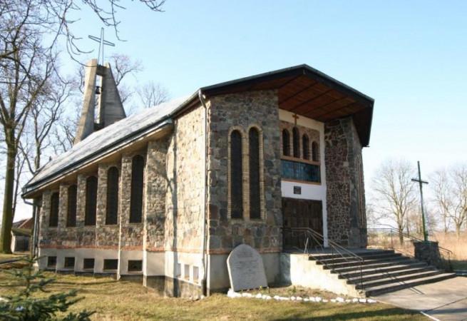 Wardyń Kościół filialny pw św.Maksymiliana Marii Kolbego
