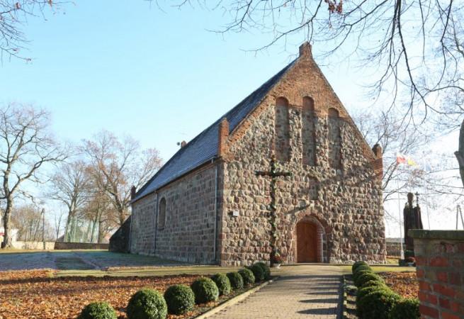 Pacholęta Kościół filialny pw św. Jana Chrzciciela