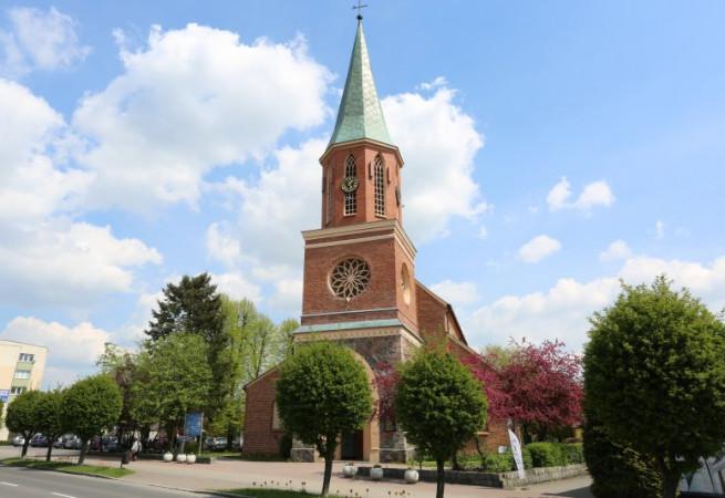 Łobez Kościół parafialny pw Najśw. Serca Pana Jezusa
