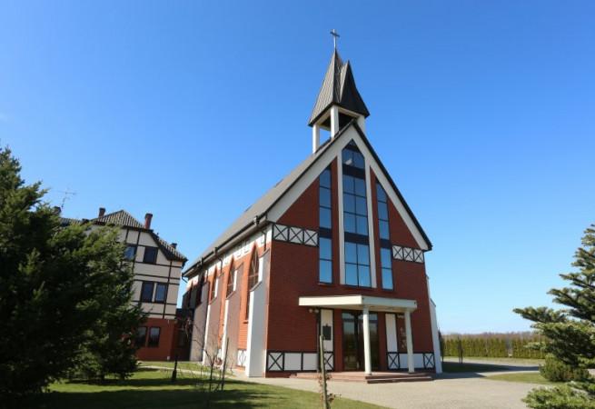 Łukęcin Kościół parafialny pw NMP Królowej Polski