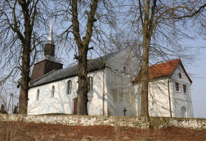 Mechowo k.Golczewa Kościół parafialny pw Niep. Poczęcia NMP