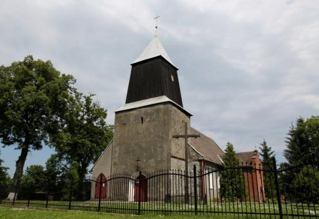 Mechowo k.Płot Kościół parafialny pw św. Andrzeja Boboli