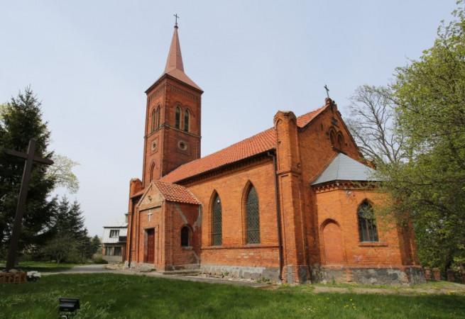 Mostkowo Kościół parafialny pw św. Antoniego z Padwy