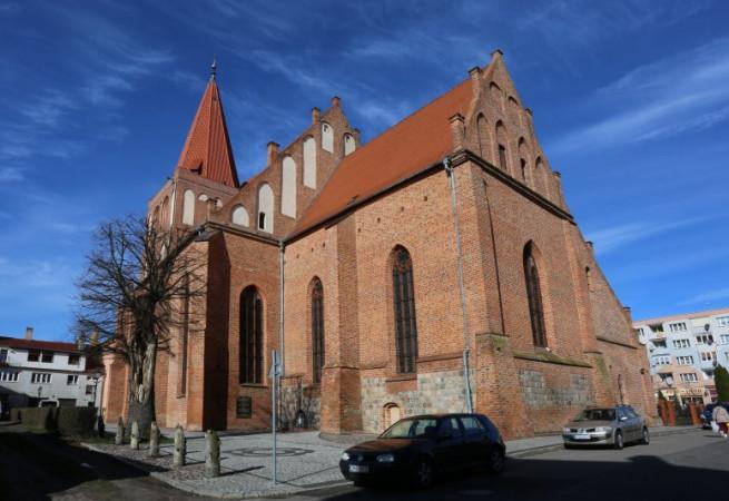 Myślibórz Kościół parafialny pw św. Jana Chrzciciela