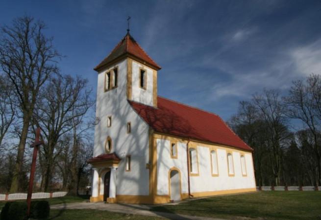 Nawrocko Kościół filialny pw Wniebowzięcia NMP