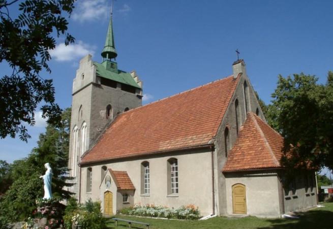 Nawodna Kościół parafialny pw Świętego Krzyża
