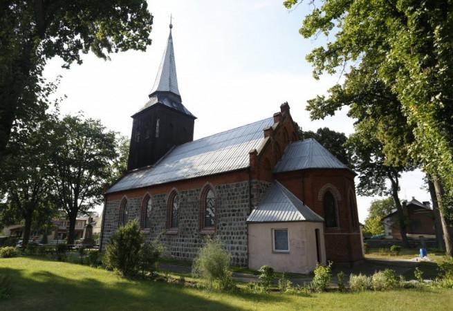 Lisie Pole Kościół filialny pw Niepokalanego Poczęcia NMP