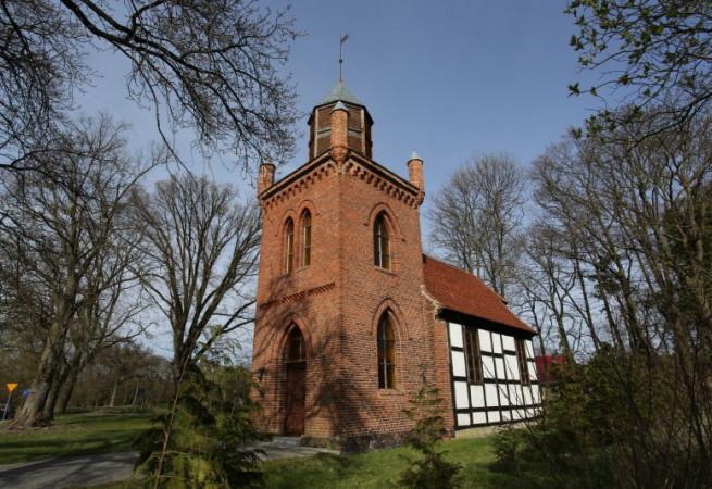 Karszno Kościół filialny pw św. Huberta
