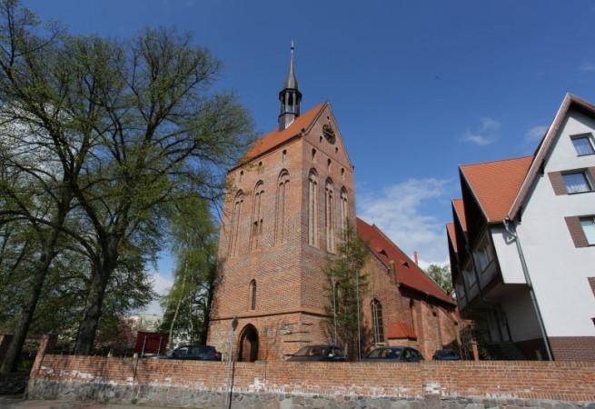 Nowogard Kościół parafialny pw Wniebowzięcia NMP