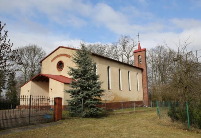 Giżyn Kościół filialny pw Podwyższenia Krzyża Świętego