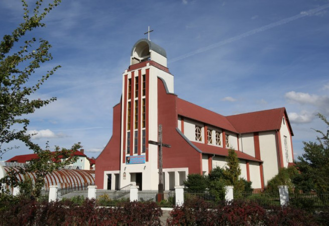 Nowogard Kościół parafialny pw św. Rafała Kalinowskiego