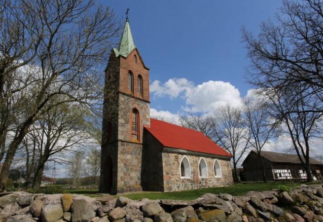 Lestkowo Kościół filialny pw MB Królowej Polski