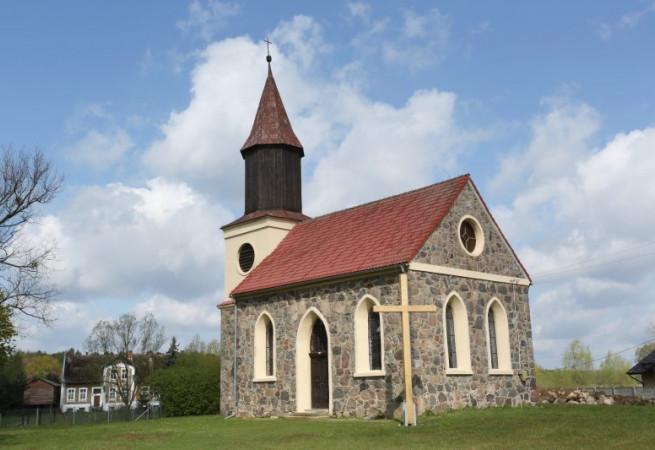 Krzywice Kościół filialny pw Najśw.Serca Pana Jezusa