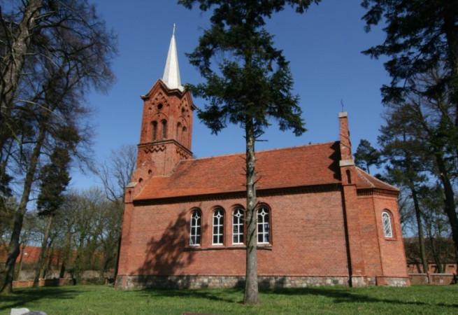 Jagów Kościół filialny pw św.Apostołów Piotra i Pawła