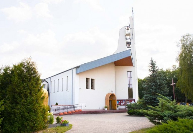 Szczecin Kościół parafialny pw Nawiedzenia NMP