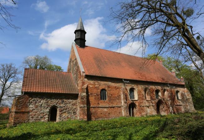 Chlebowo Kościół filialny pw Św Huberta