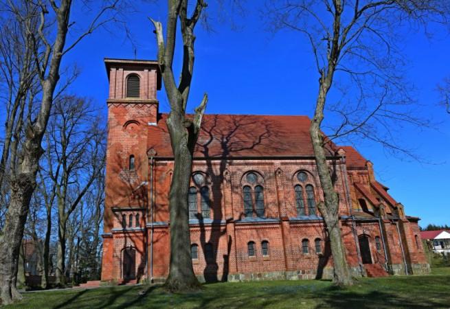 Trzęsacz Kościół filialny pw Miłosierdzia Bożego