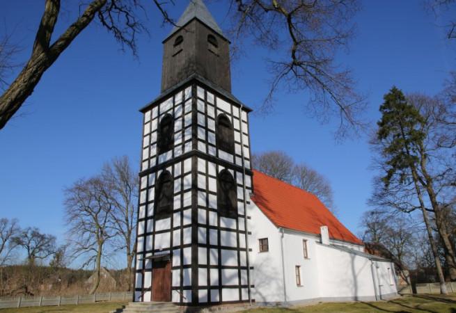 Dyszno Kościół filialny pw św.Wojciecha BM