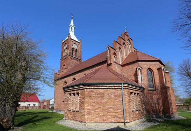 Ryszewko Kościół parafialny pw Wniebowzięcia NMP