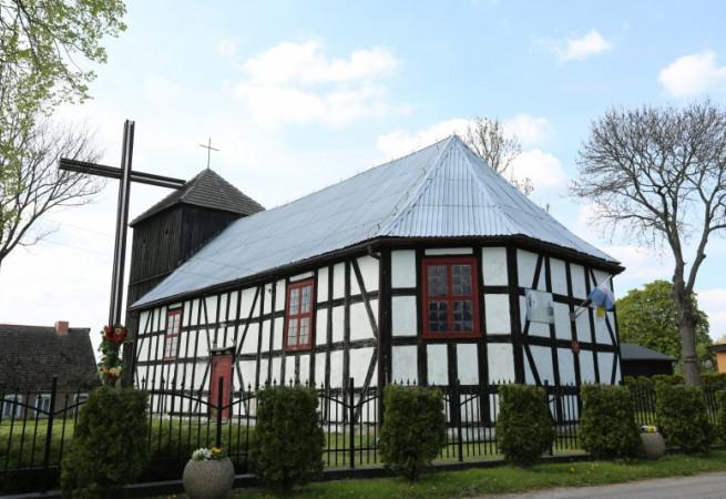 Mielno Kościół filialny pw MB Różańcowej