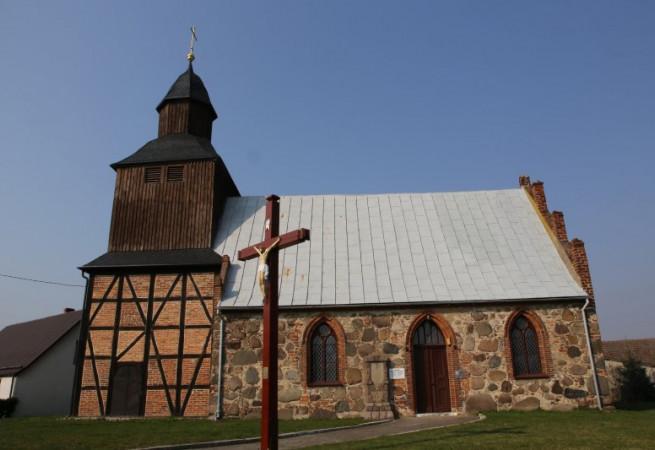 Nowa Dąbrowa Kościół filialny pw MB Pocieszenia