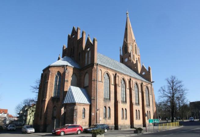 Stargard Kościół parafialny pw Świętego Ducha