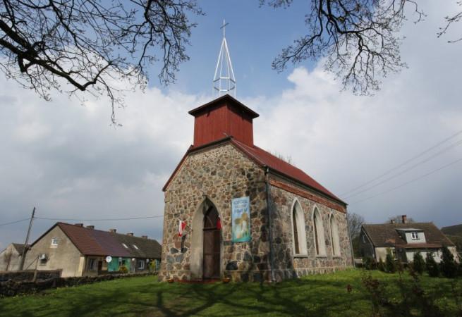 Świerczewo Kościół filialny pw św. Faustyny Kowalskiej