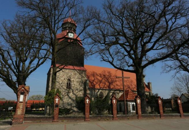 Suchań Kościół parafialny pw MB Nieustającej Pomocy