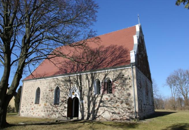 Nosowo Kościół filialny pw św. Franciszka z Asyżu