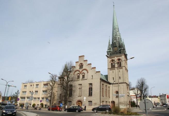 Świnoujście Kościół parafialny pw Chrystusa Króla