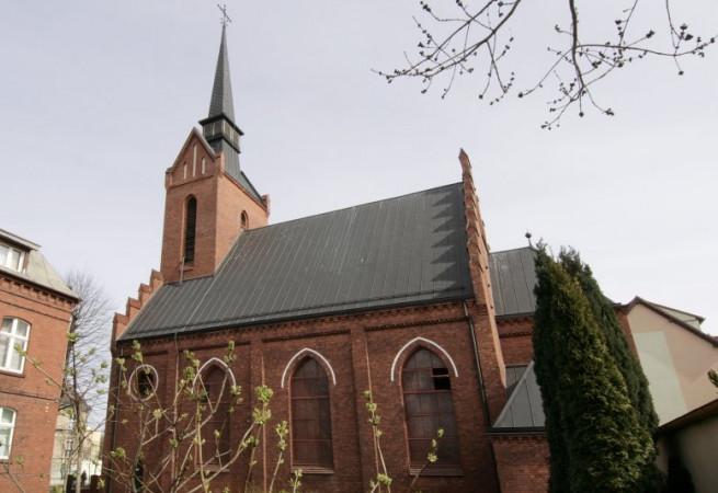 Świnoujście Kościół parafialny pw NMP Gwiazdy Morza