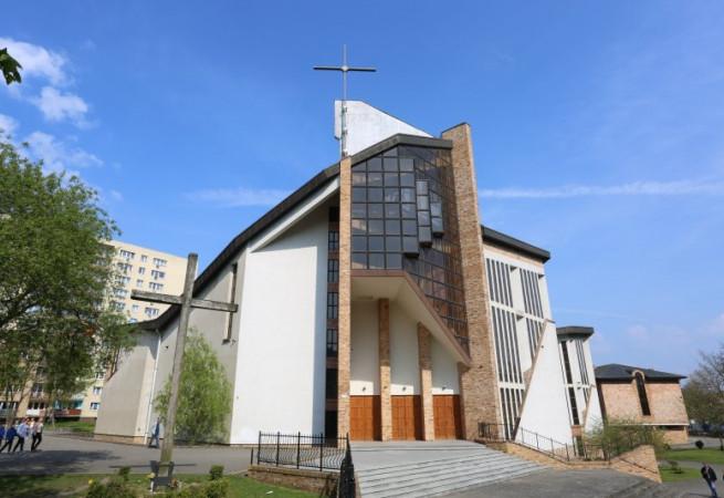 Stargard Kościół parafialny pw Miłosierdzia Bożego