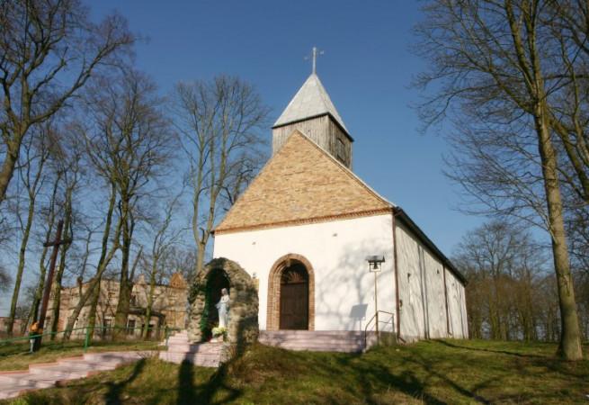 Grzymiradz Kościół filialny pw św.Ottona Biskupa