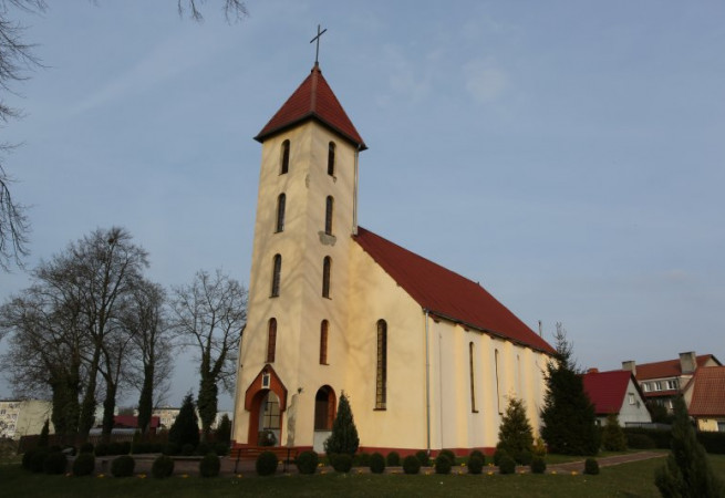 Stuchowo Kościół parafialny pw Świętej Siostry Faustyny Kowalskiej